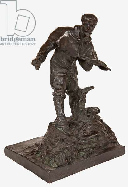 Model for the Monument to Jules Bastien-Lepage, 1889 (bronze) (see also 442036, 442038)