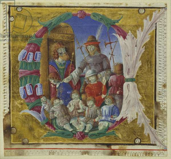 Massacre of the Innocents, Cremone, late 15th century (vellum)