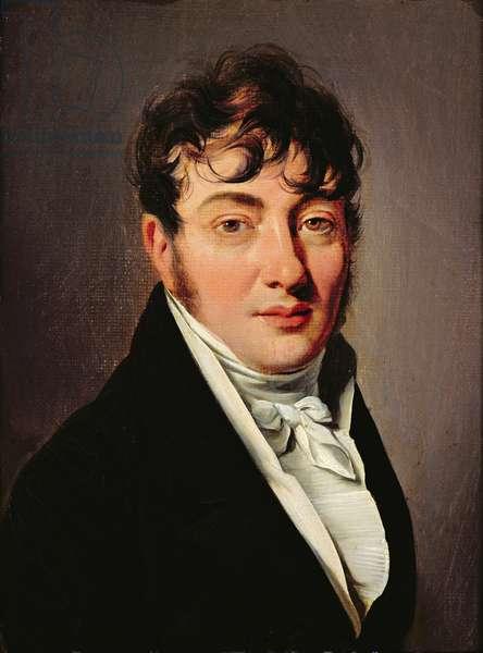 Portrait of Louis le Grand, Marquis de Marizy (oil on canvas)