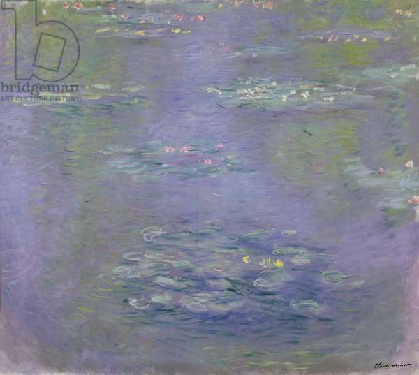 Waterlilies, 1903 (oil on canvas)(see detail 382332)