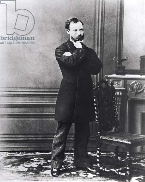Auguste Renoir (1841-1919) (b/w photo)