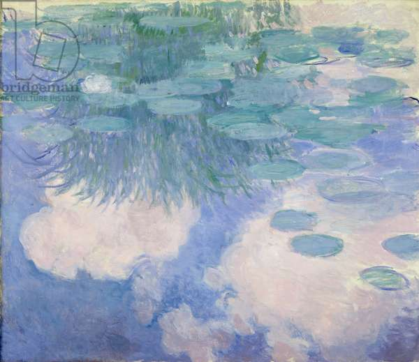 Waterlilies, 1914-17 (oil on canvas) (see detail 382337)