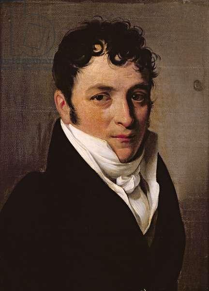 Portrait of a man, presumed to be Pierre Jean Garat (1764-1823) (oil on canvas)