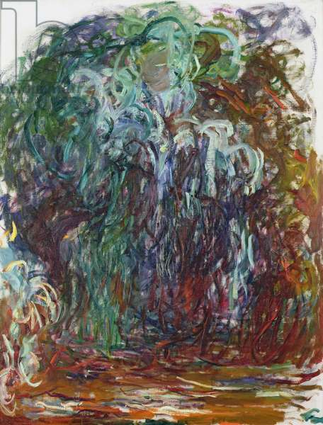 Weeping Willow, 1921-22 (oil on canvas)