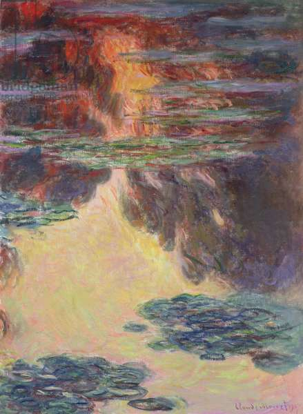 Waterlilies, 1907 (oil on canvas) (see detail 382334)