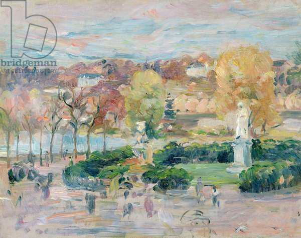 Landscape in Tours, 1892 (oil on canvas)
