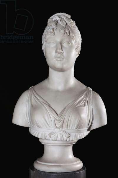 Bust of Caroline Bonaparte (marble)