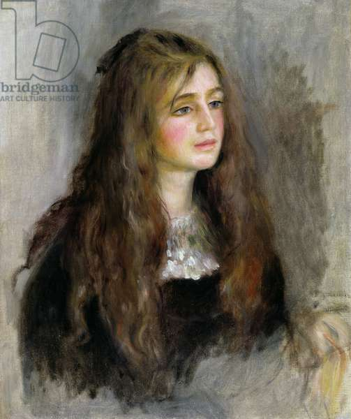 Portrait of Julie Manet (1878-1966) 1894 (oil on canvas)