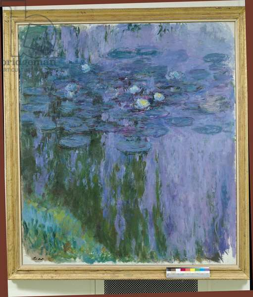 Waterlilies, 1916-19 (oil on canvas)