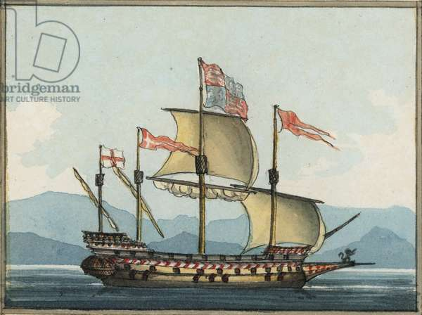 Taken from Tapestry of the House of Lords, 1809 (w/c)
