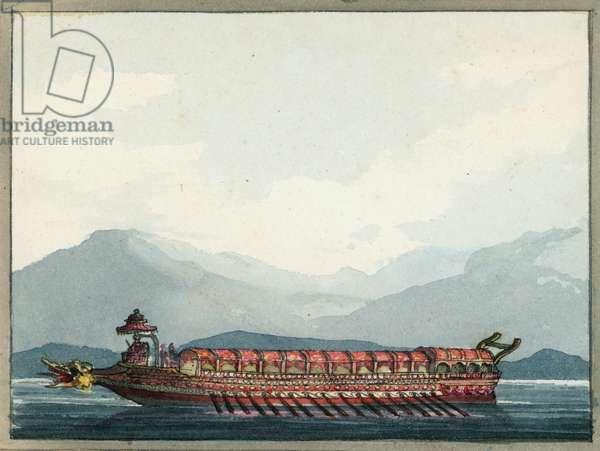 The Bucentaur, 1809 (w/c)