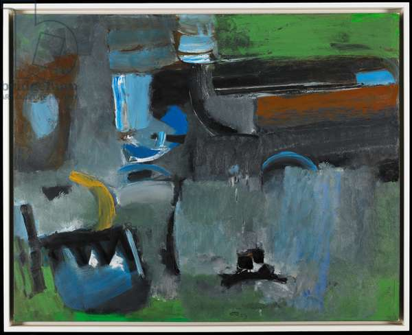 Sombrous #4, 1959 (oil on canvas)