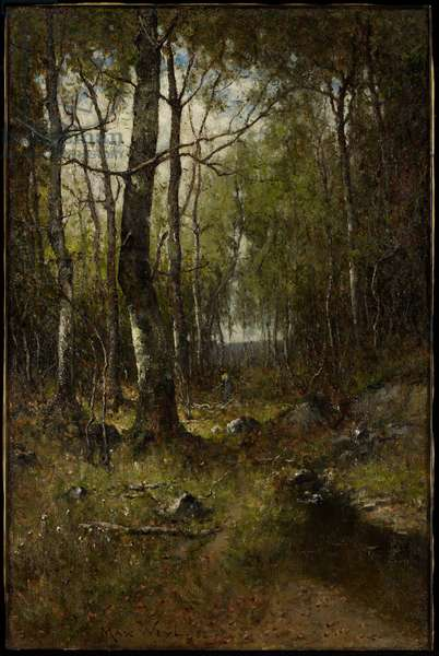 Temple Woods, 1882 (oil on canvas)