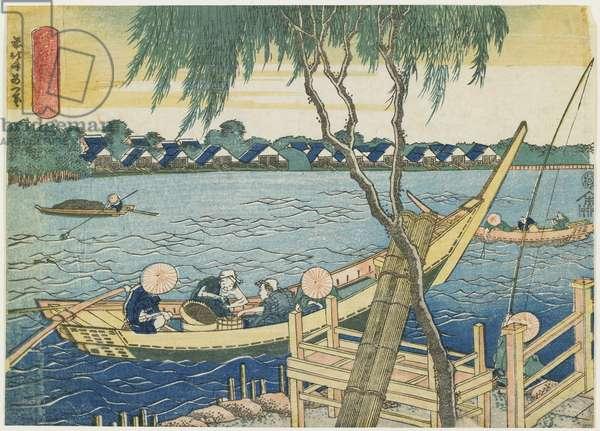 """Long-line Fishing on the Miyato River"", 1832-1834"