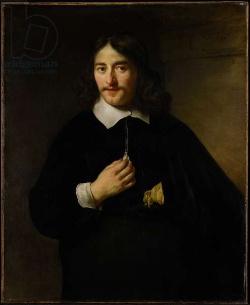 Portrait of a Man, 1654 (oil on canvas)