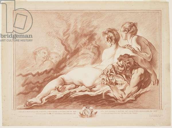 Nereids and Triton, c. 1762
