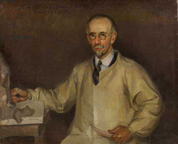 Portrait of Charles S. Wells, 1925 (oil on canvas)