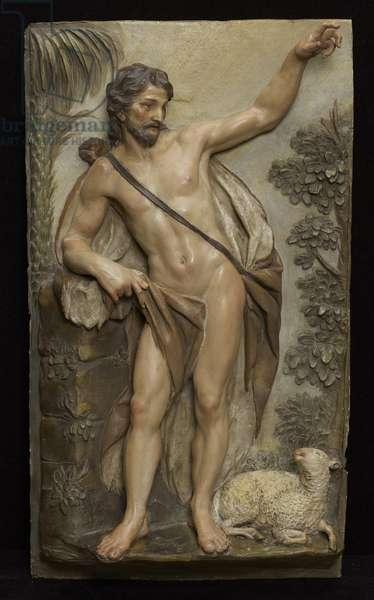 St. John the Baptist, 1763 (terracotta, polychromed)