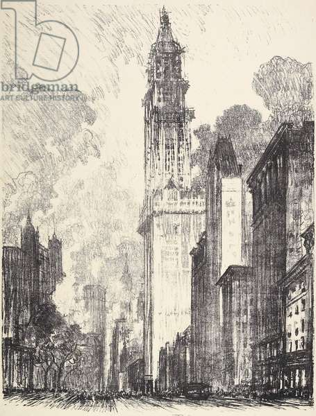 The Woolworth Building, 1912