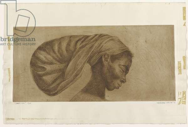 Jessica, 1970 (etching)