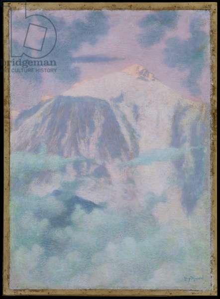 Dream Mountain Landscape, 1897 (pastel & chalk on paper)