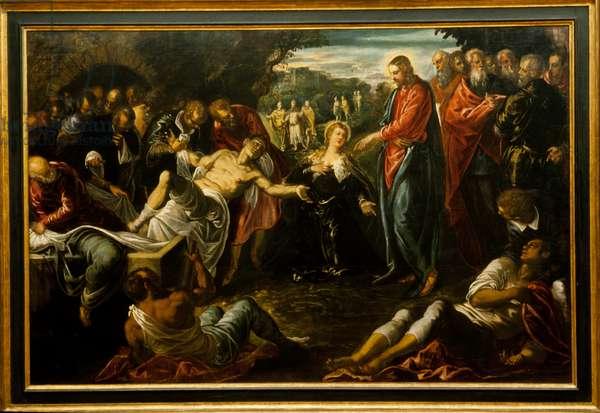 The Raising of Lazarus, 1570s–80s (oil on canvas)