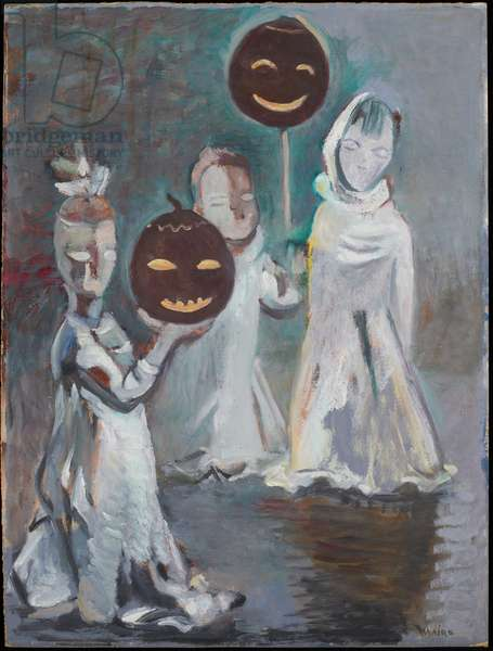 Halloween (oil on canvas)