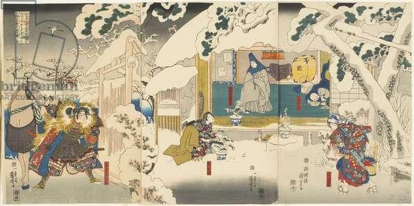 Scene from the Hachinoki Story, 1843-1847