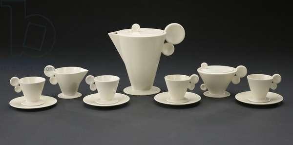 Tea service, c.1930 (ceramic)