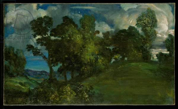 Night's Overture, 1907 (oil on canvas)