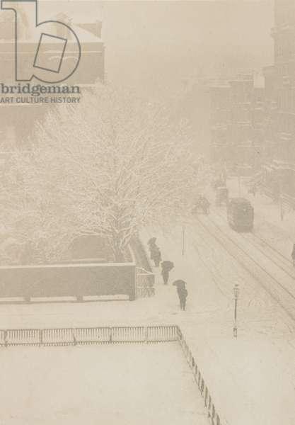 Snapshot, From My Window, New York, 1907 (photogravure)