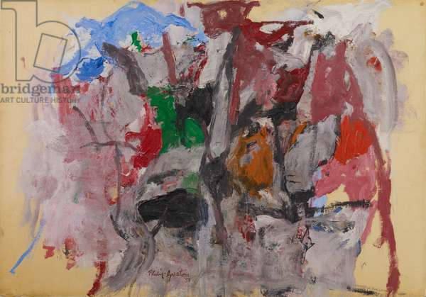 Untitled, 1958 (oil on board)