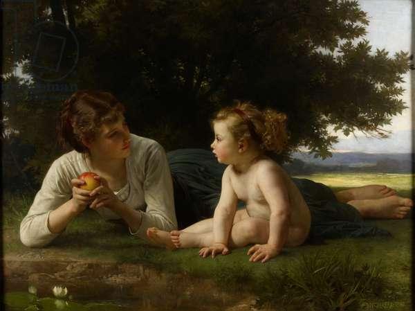 Temptation, 1880 (oil on canvas)