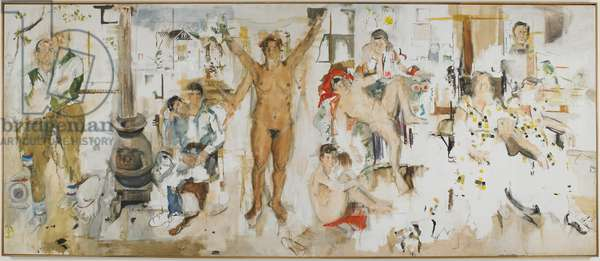 The Studio, 1956 (oil on canvas)