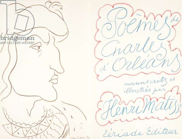 The Poems of Charles of Orléans, February 25, 1950 (colour litho)
