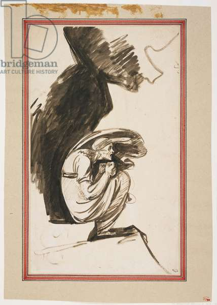 Study for 'The Lapland Witch', c. 1775-1777