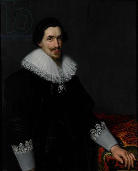 Portrait of Lucas van Voorst, 1628 (oil on panel)