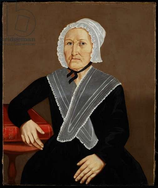 Portrait of Harriet Brown, 1845 (oil on panel)