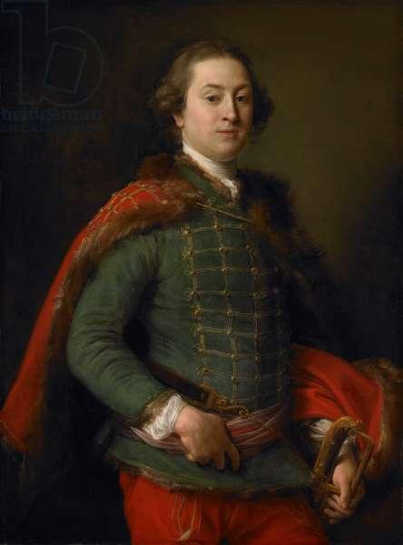 Portrait of John Woodyeare, 1750 (oil on canvas)