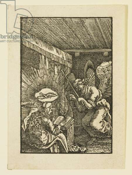 The Annunciation (woodcut)
