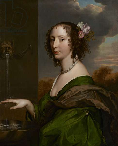 Portrait of Lucy Hay (née Percy) Countess of Carlisle, c.1660-65 (oil on canvas)