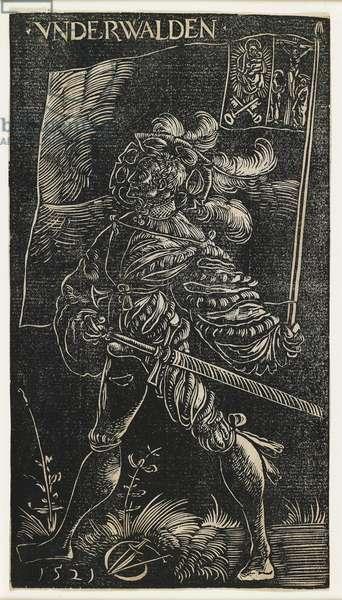 The Standard Bearer of Unterwalden, 1521