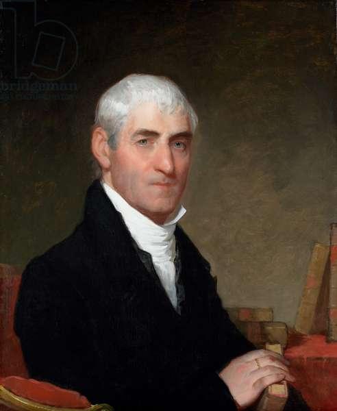 Portrait of Alexander Townsend, 1809 (oil on panel)