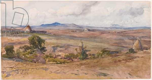 Rural Landscape (w/c on paper)