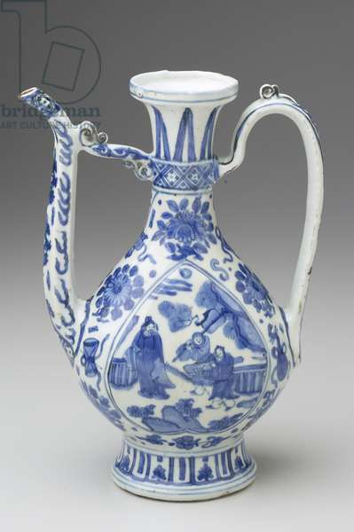 Ewer, Chia-Ching Period, Ming Dynasty (porcelain)