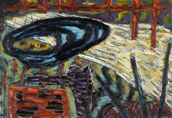Deluge II, 1987 (oil on canvas)
