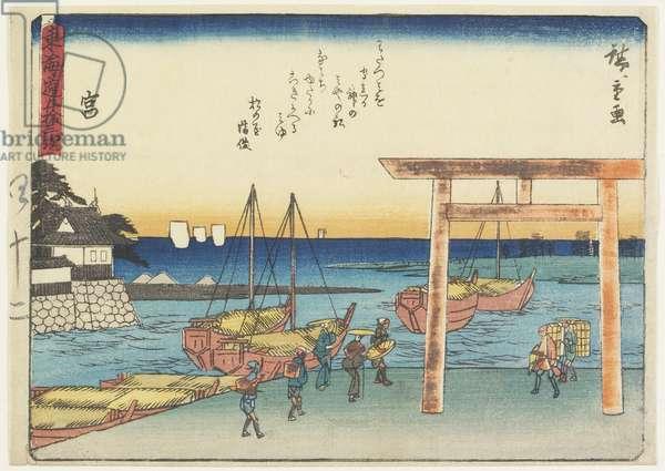 Miya, 1837-1844