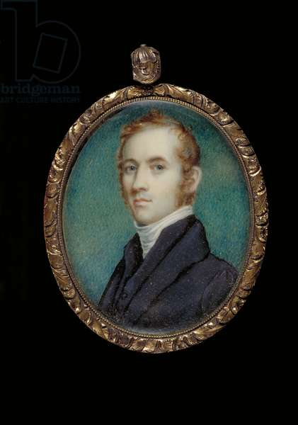 Portrait of Rev. James M. Winchell (oil on ivory)