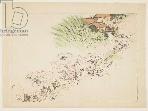 Mountain Cherry Blossoms, c. 1877