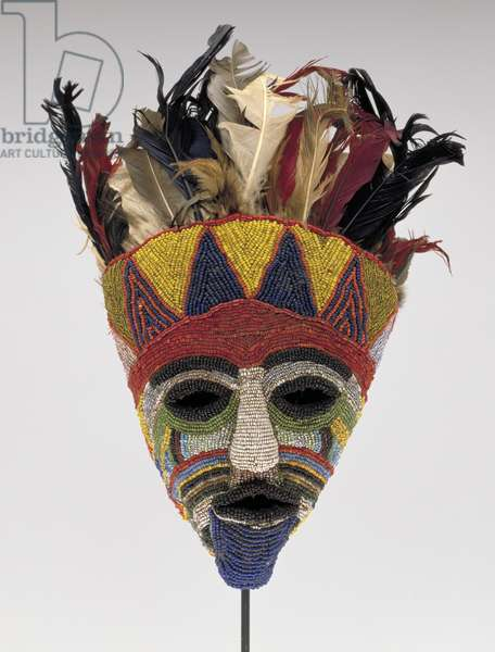 Mask, Tabwa Culture (mixed media)